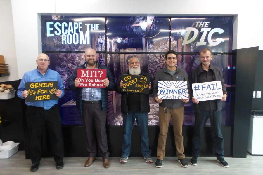 S-NET Team at Escape the Room Chicago